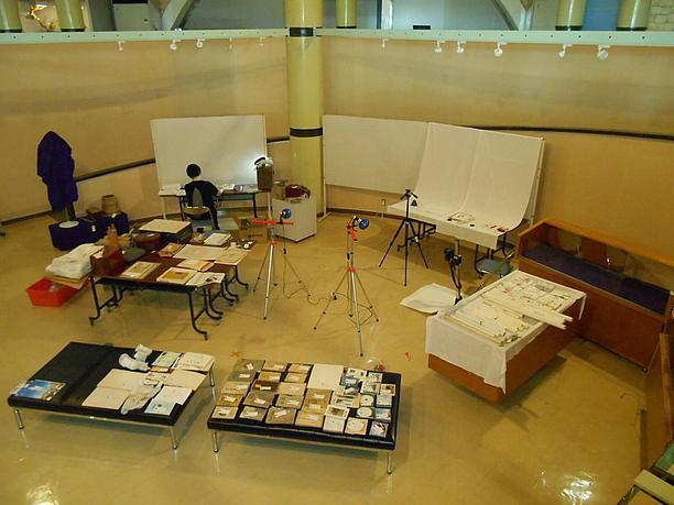 平成25・26年度新収蔵品展の準備