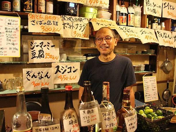 「おとん」の店主・池田哲也さん