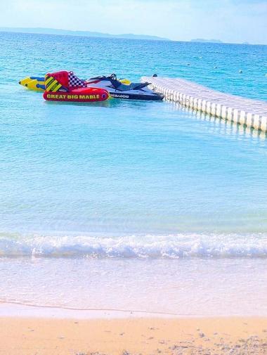 ジェットスキーやバナナボート