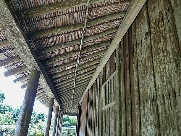 部屋の天井や屋根