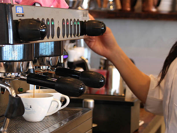 イタリアのコーヒーメーカー