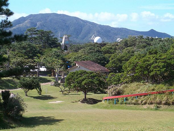 沖縄宇宙通信所のドーム