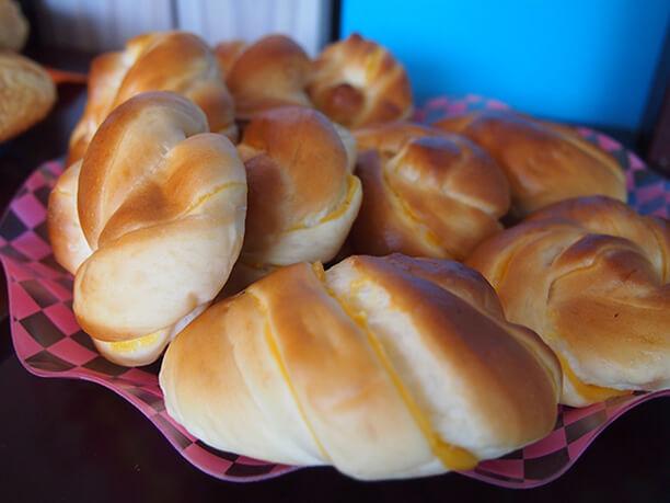 パンのアップ