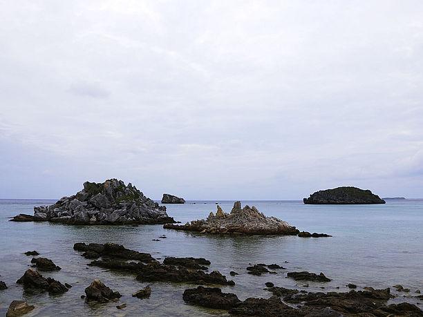 神の宿る岩