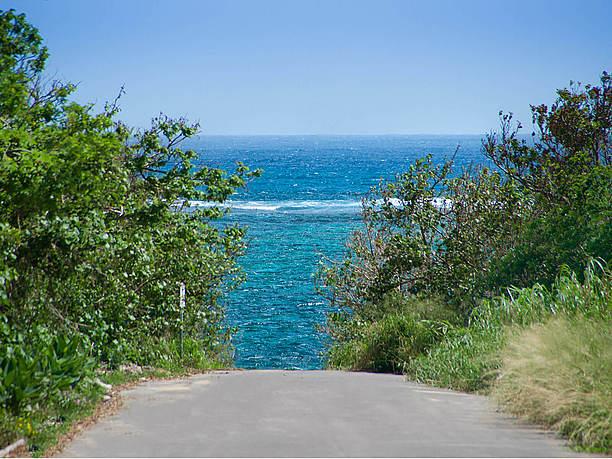 宮良湾から広がる太平洋