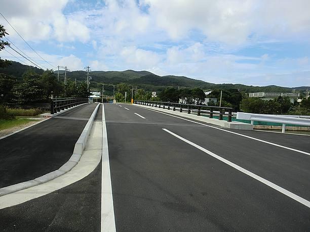 銭田橋の補修工事終了