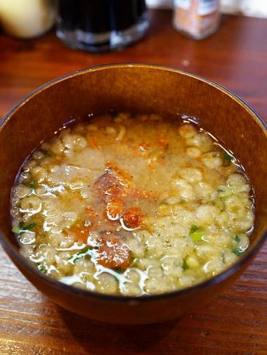 野菜のコンソメスープから作る豚汁