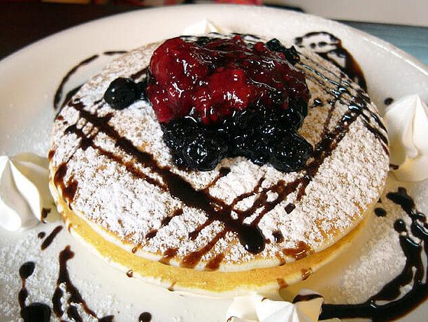 スイーツ系パンケーキ