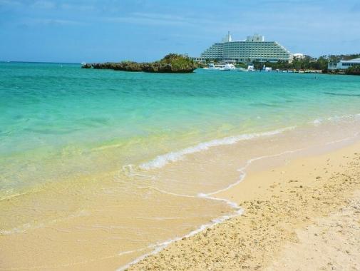 砂浜と美しい海の極上のビーチ