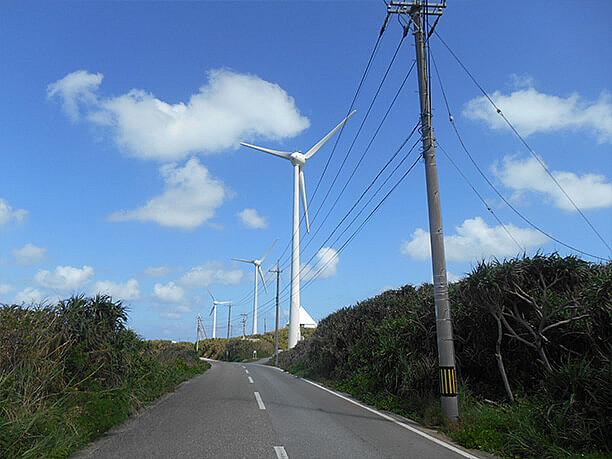 風車が回る音