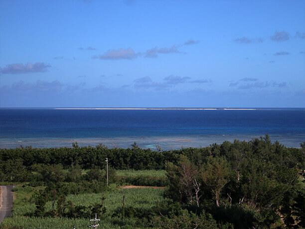 水納島も一望