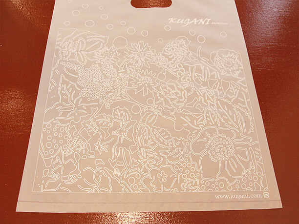 半透明のビニール袋
