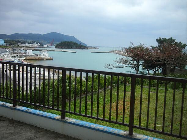 のどかな久米島の風景