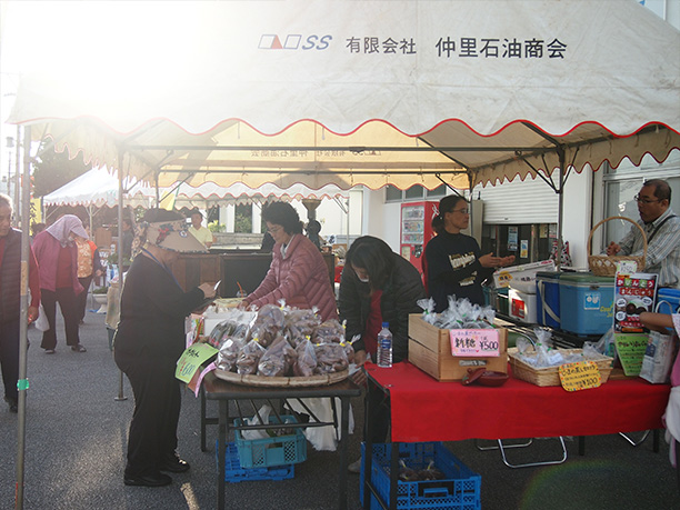 久米島直売市会場