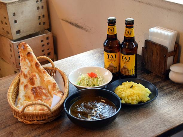 食堂インドのカレー