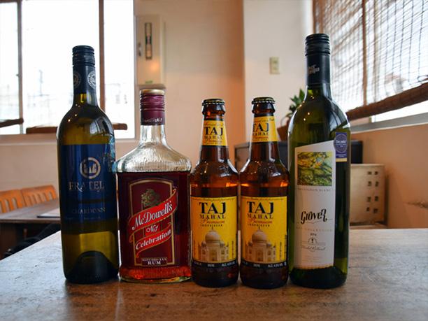 インド産のビールやワイン