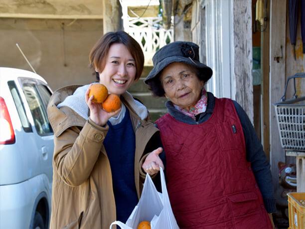 仲原のお母さんとライター