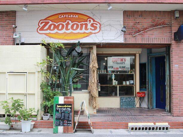 Zooton's(ズートンズ)外観