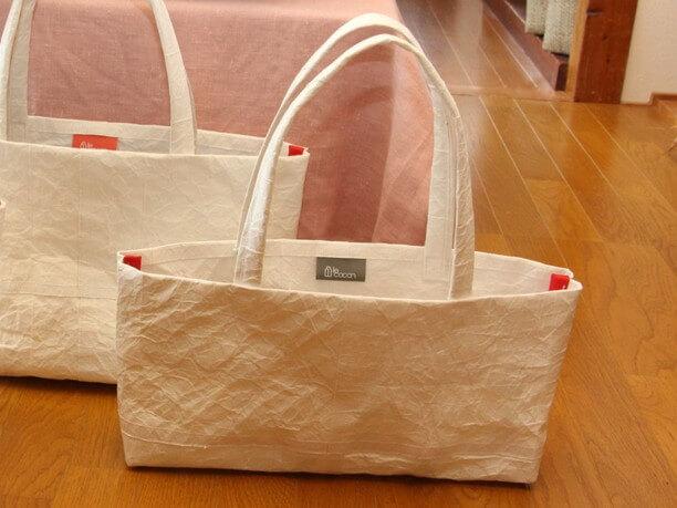 ル・ココンの白いバッグ