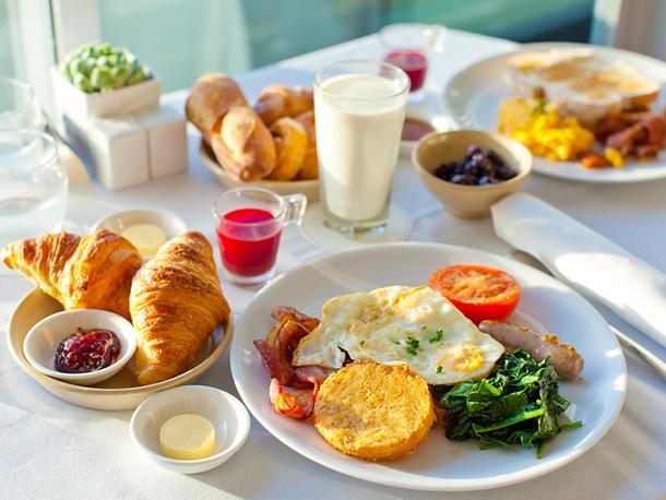 良い旅は良い朝食から