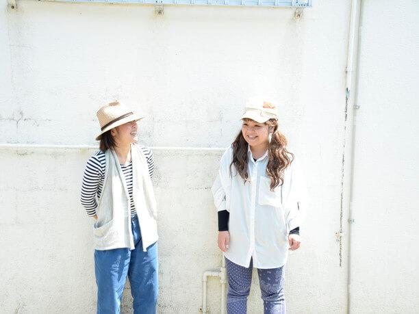崎枝由美子さんと當眞裕子さん