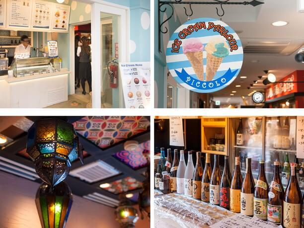 <石垣島アイスパーラー> PICCOLOと<Japanese SAKE bar> アカハチ
