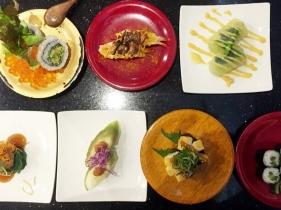 海來の料理