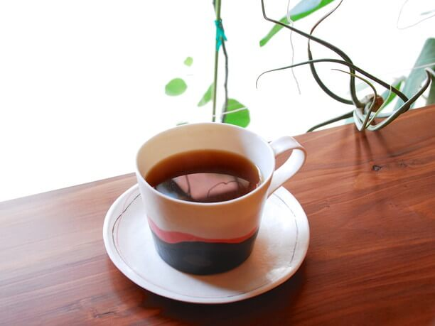 ミディアムローストのコーヒー