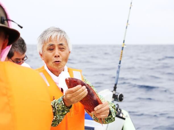 人気の釣り体験