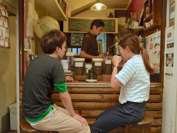 豆の個性が引き出されているおいしいコーヒー