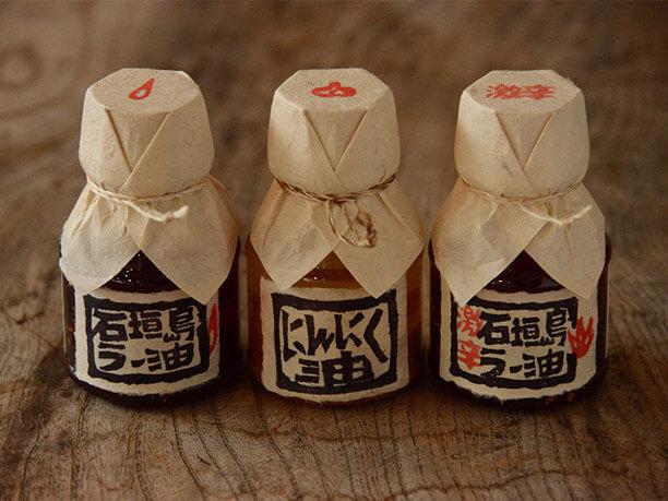 辺銀食堂の石垣島ラー油、激辛タイプ、にんにく油