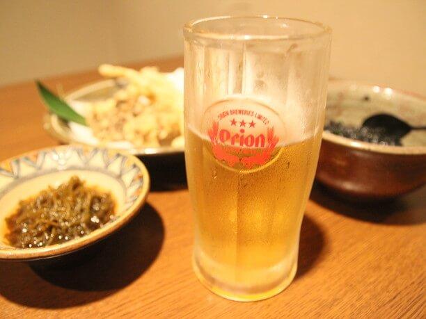 ビールとお料理