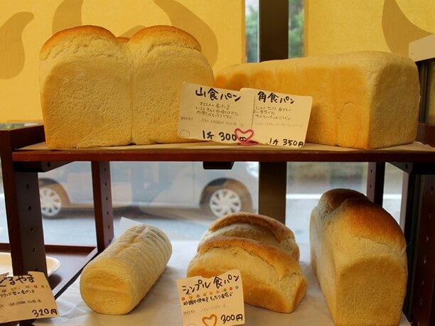 安心できる素材で作られるパン
