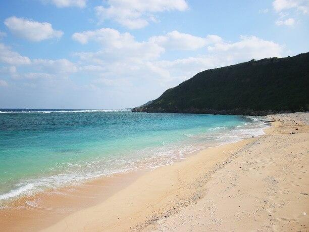きれいな砂浜