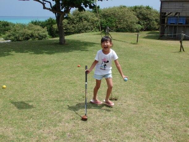 子供とゴルフ
