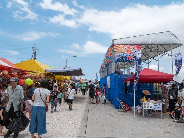 ウミンチュ(漁師)の祭り