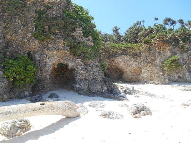 雰囲気のある洞窟