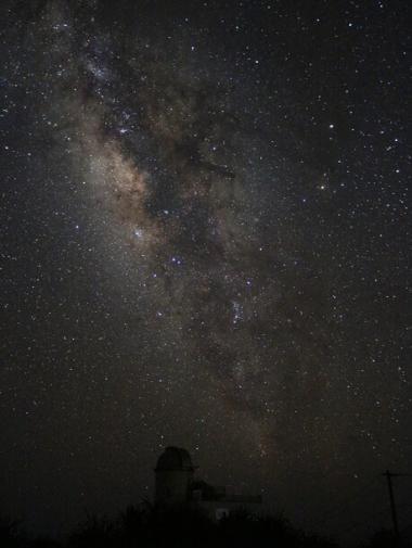 素晴らしい星空