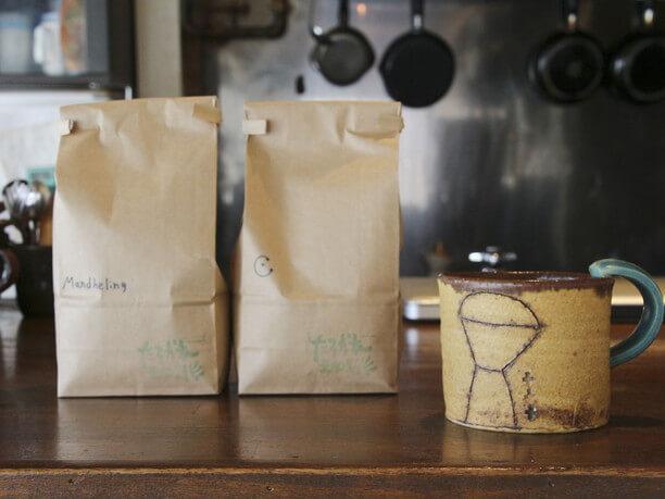 珈琲豆の販売