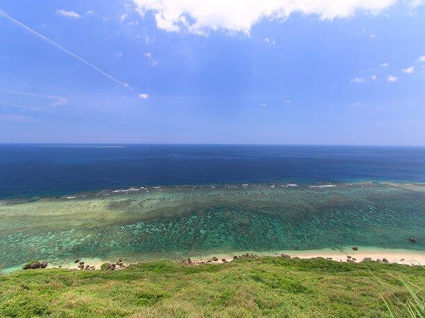 東シナ海のダイナミックな景色
