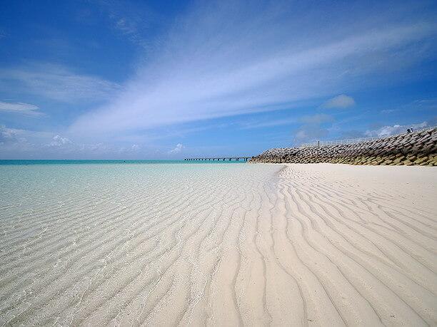 美しい浜辺