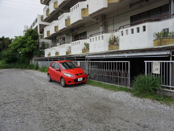 マンション側の駐車場所