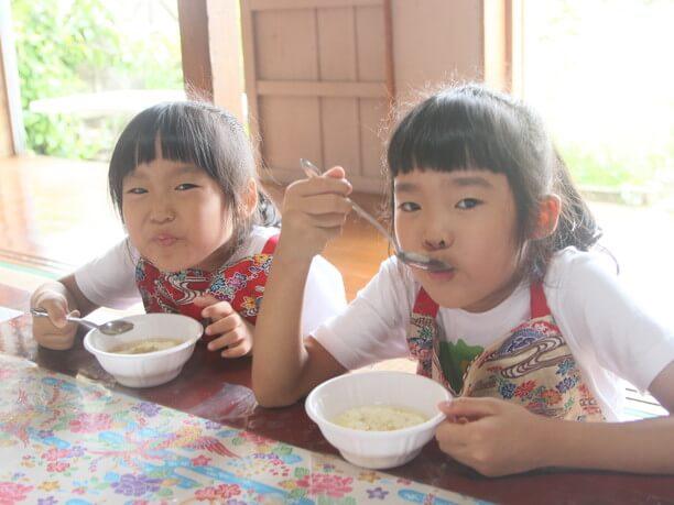 ゆし豆腐の試食