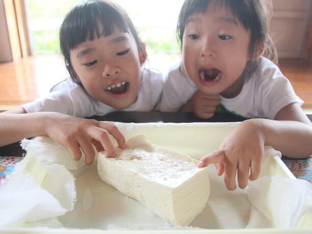 旨味がぎっしり詰まった島豆腐