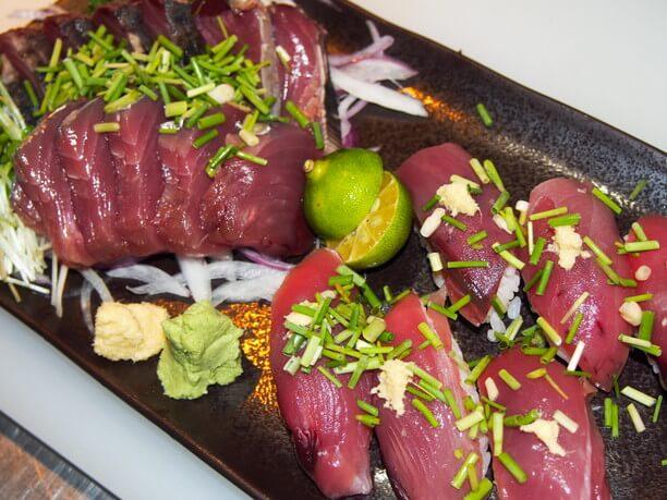 刺身や握り寿司