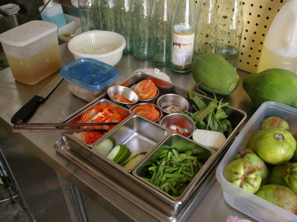 約10種類の野菜