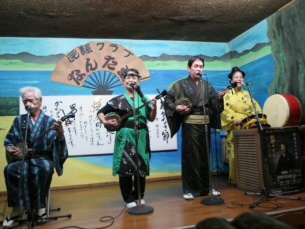 沖縄民謡の伝説