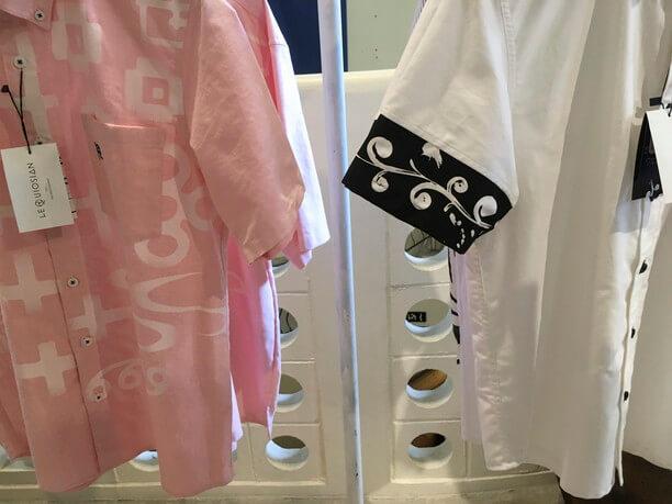 沖縄の陶芸や織物などをモチーフに取り入れたデザイン