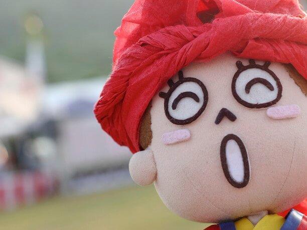 沖縄観光PR大使の花笠マハエちゃん