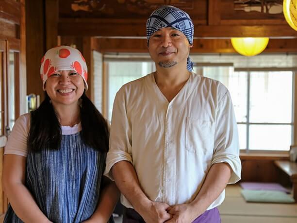 雅美さんとジミーさん